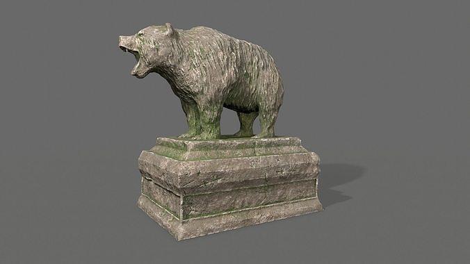 Bear Statue 8
