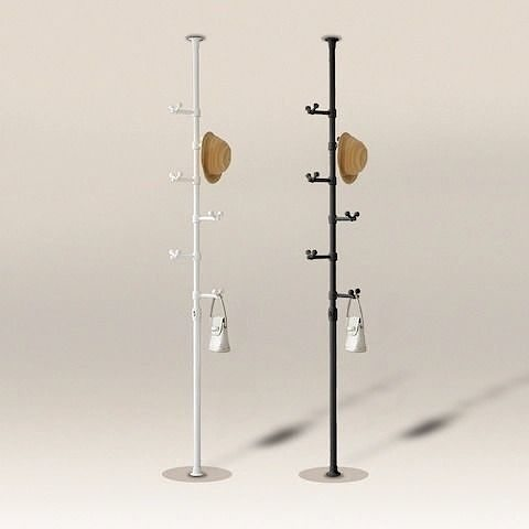 Drop pole hanger