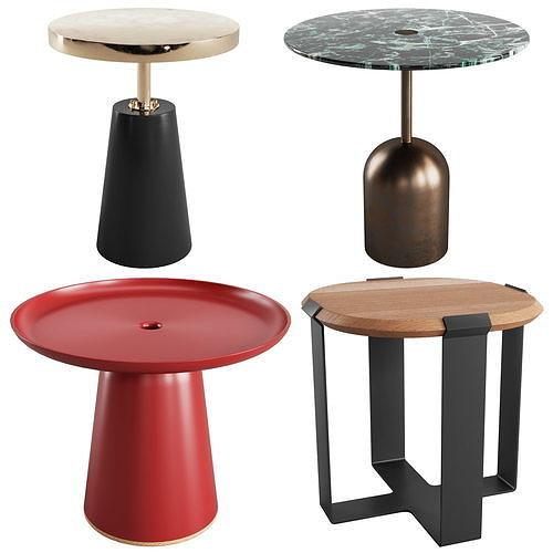 Side Tables Vol 07 - 4 Models