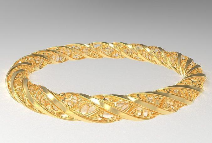 Voronoi Jewellery 1