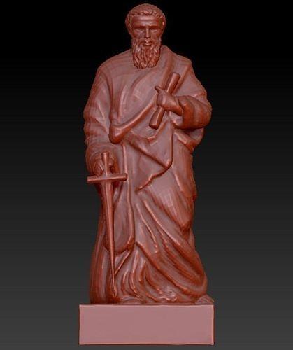 Saint Paul 3D model