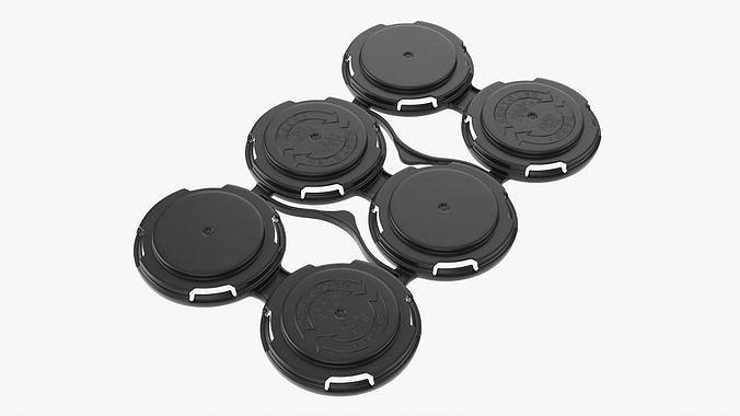 Clip PAK Carrier Handle Standard Can 6Pak