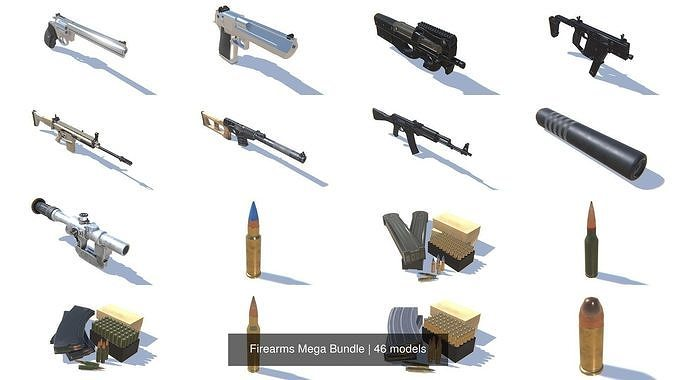 Firearms Mega Bundle