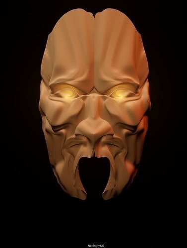 Mask of Anger