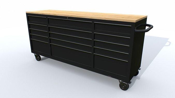 Workbech Storage Tools Trolley 2
