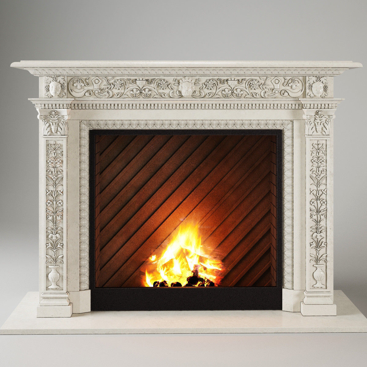 fireplace 3d models download 3d fireplace files cgtrader com