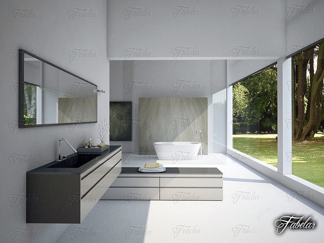 bathroom 3d model max obj mtl fbx c4d mat 1