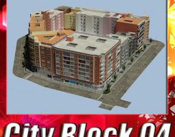 3d asset City Block