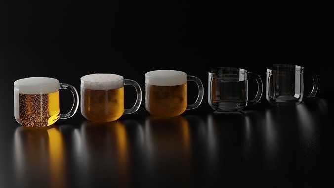 Beer Glass 8