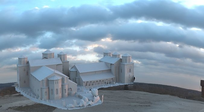 mansion Fantasy 3d model