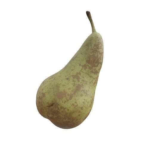 Photorealistic 3D Scanned Pear