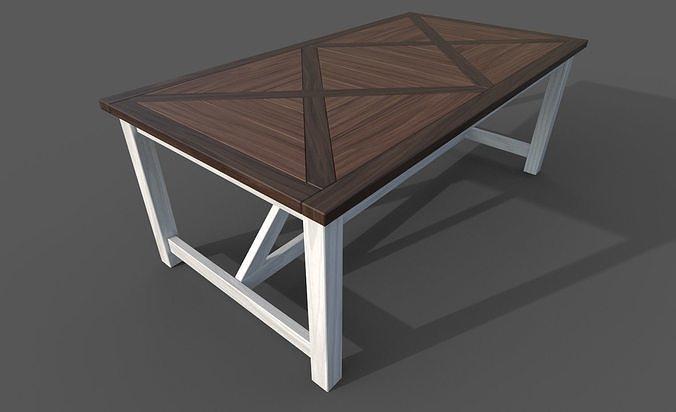 FURNITURE SET of Vintage Tables