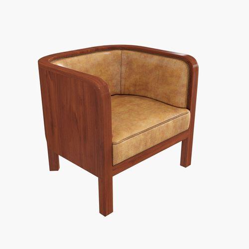 chair by jacob kjaer 3d model max obj mtl fbx 1
