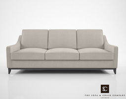 3D model The Sofa and Chair Company Spencer Sofa