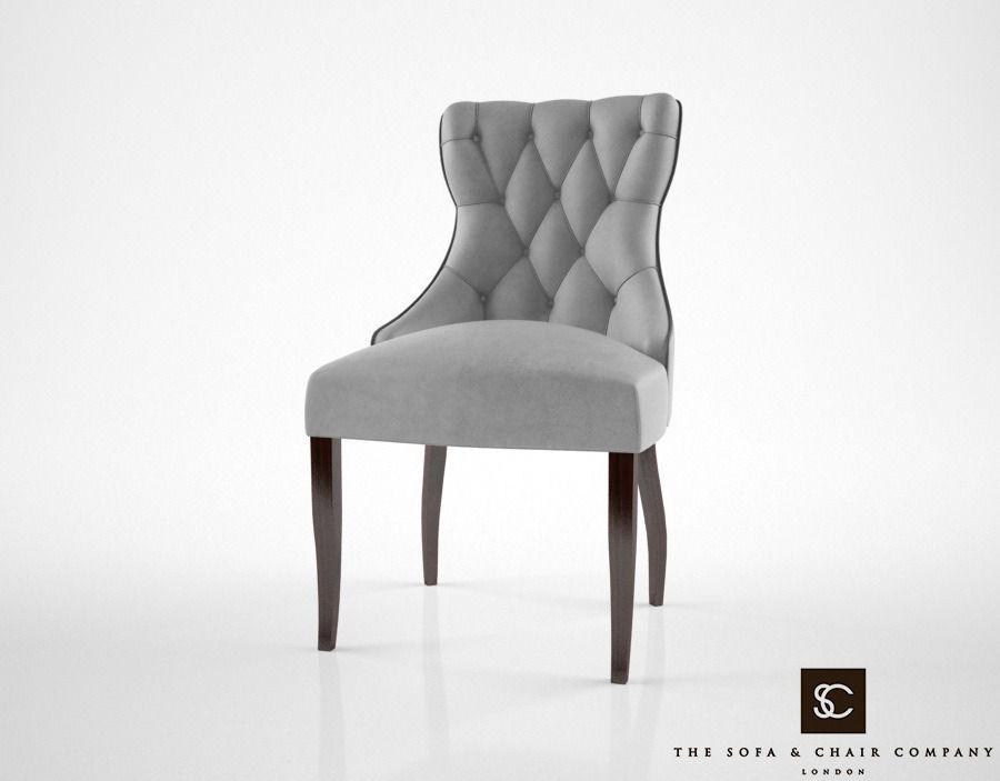 Guinea Dining Chair Model Max Obj Fbx