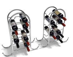 Home Wine Rack 3D