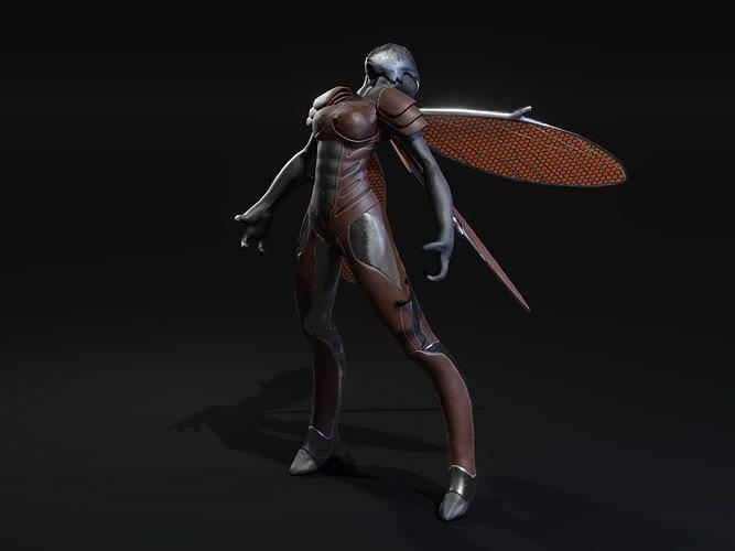 Winged Alien