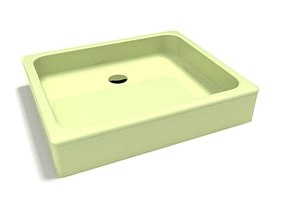 3D Shower Green Base