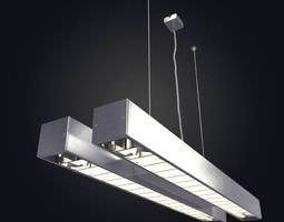 3D Hanging Tube Light