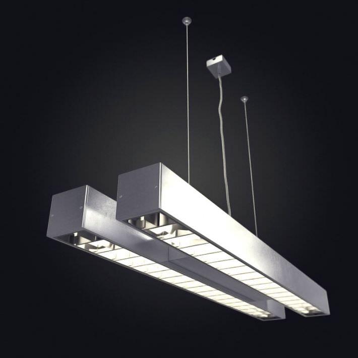 Hanging Tube Light | 3D model