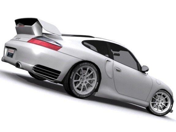 3d model porsche 911 gt2 vr ar low poly max. Black Bedroom Furniture Sets. Home Design Ideas