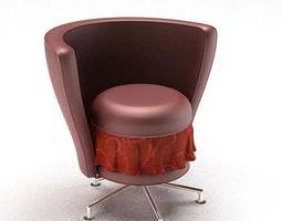 3D Modern Swivel Chair