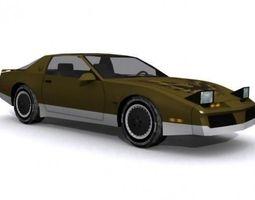 3D model Pontiac Trans Am Firebird