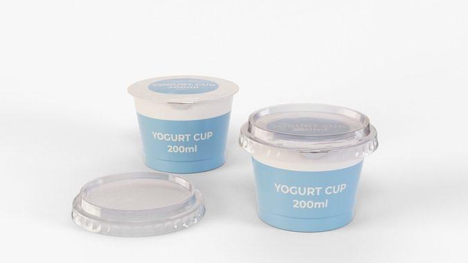 Yogurt Cup 200ml Cap