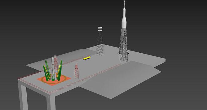 space center Baykonur