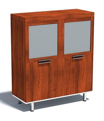 Two Door Wooden Cabinet 3D | CGTrader