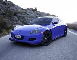 Mazda RX8 3D