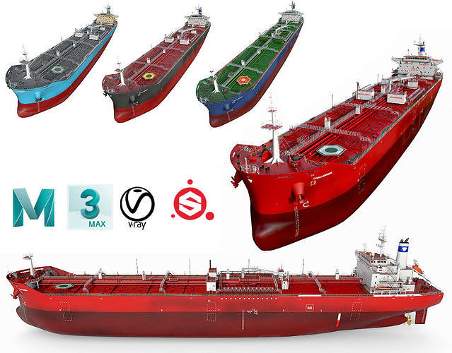 Tankers 4 colors