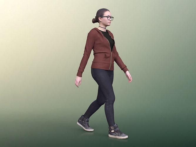 Laura 20012-02 - Animated Woman Walking