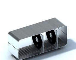Cd Case Holder 3D Model
