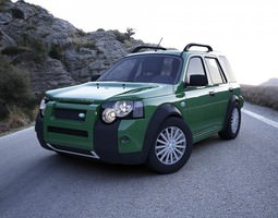 Land Rover Freelander 2004 3D Model