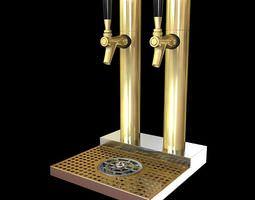 Beer Taps 3D model
