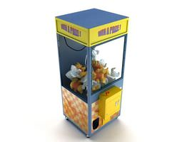 3D model Game Claw Machine