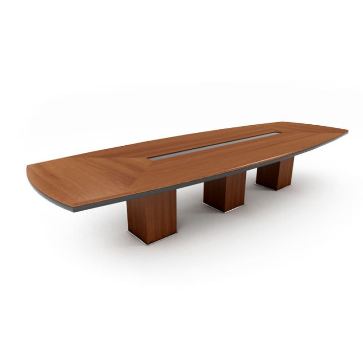 D Office Conference Table CGTrader - Handmade conference table