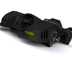 3D asset Batmobile