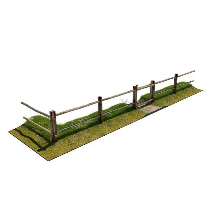 Fence   Wooden Rural