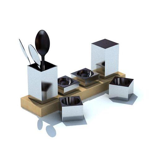 Kitchen Gadget Holders 3D Model