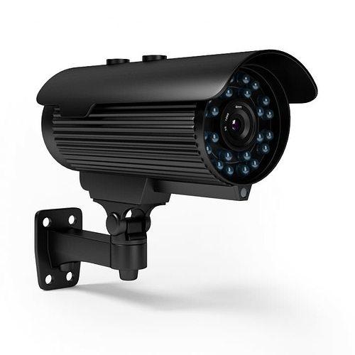 home security camera 3d model obj 1