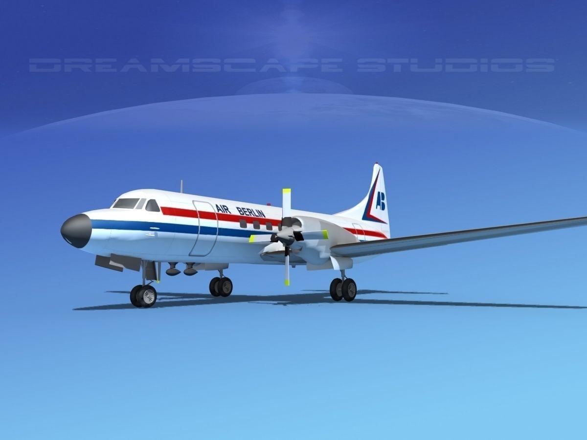 Convair CV-580 Air Berlin