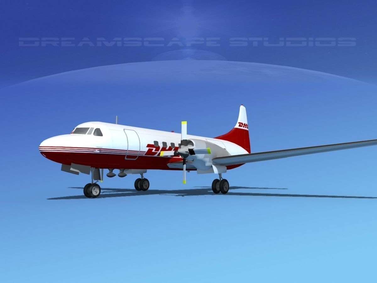 Convair CV-580 DHL