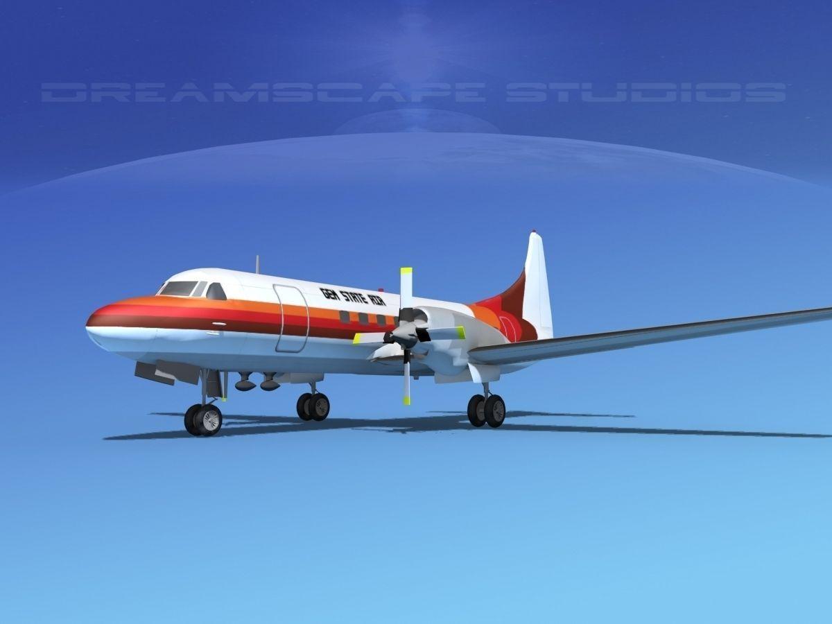 Convair CV-580 Gem State Air