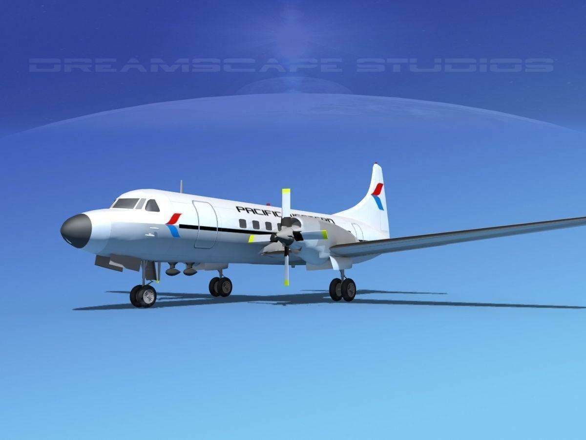 Convair CV-580 Pacific Western