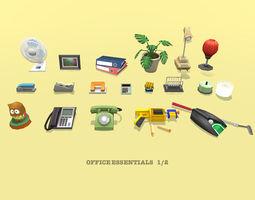 3D model Office Essential props