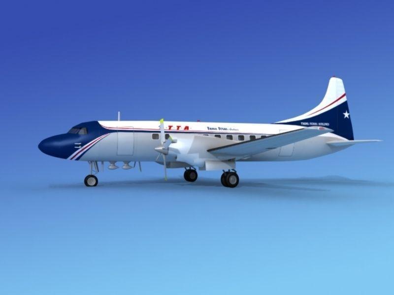 Convair CV-580 Trans Texas