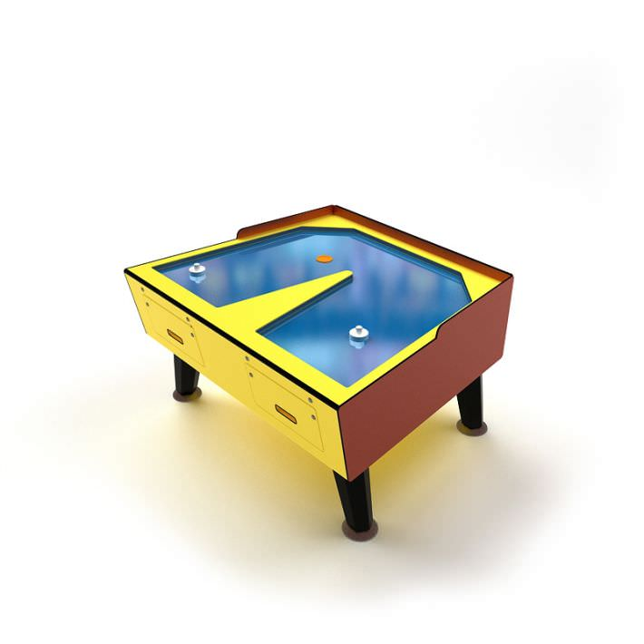 air hockey table 3d