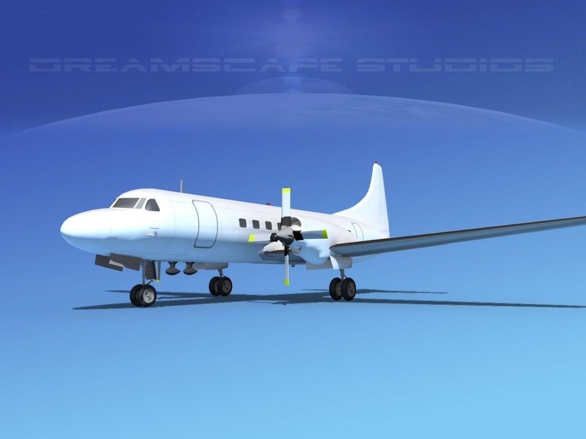 Convair CV-580 Unmarked 1